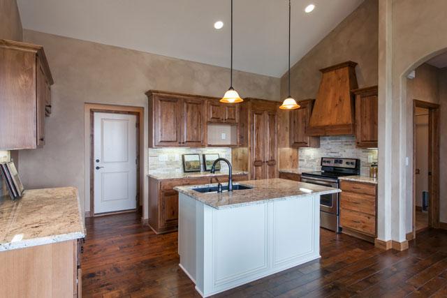 Winthrop Custom New Construction Kitchen in Wichita