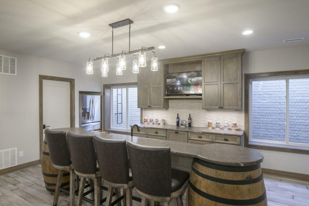 Magnolia Custom New Construction Kitchen in Wichita