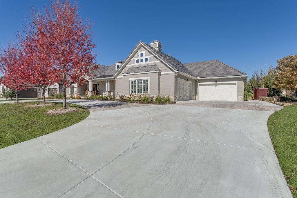 Magnolia Floor Plan Side Drive View