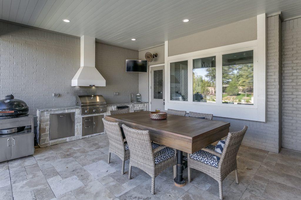 Magnolia Floor Plan Outdoor Kitchen Dining