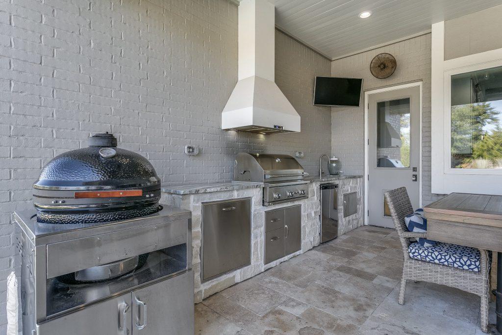 Magnolia Floor Plan Outdoor Kitchen
