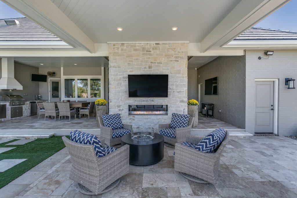 Magnolia Floor Plan Outdoor Entertainment Areas 2