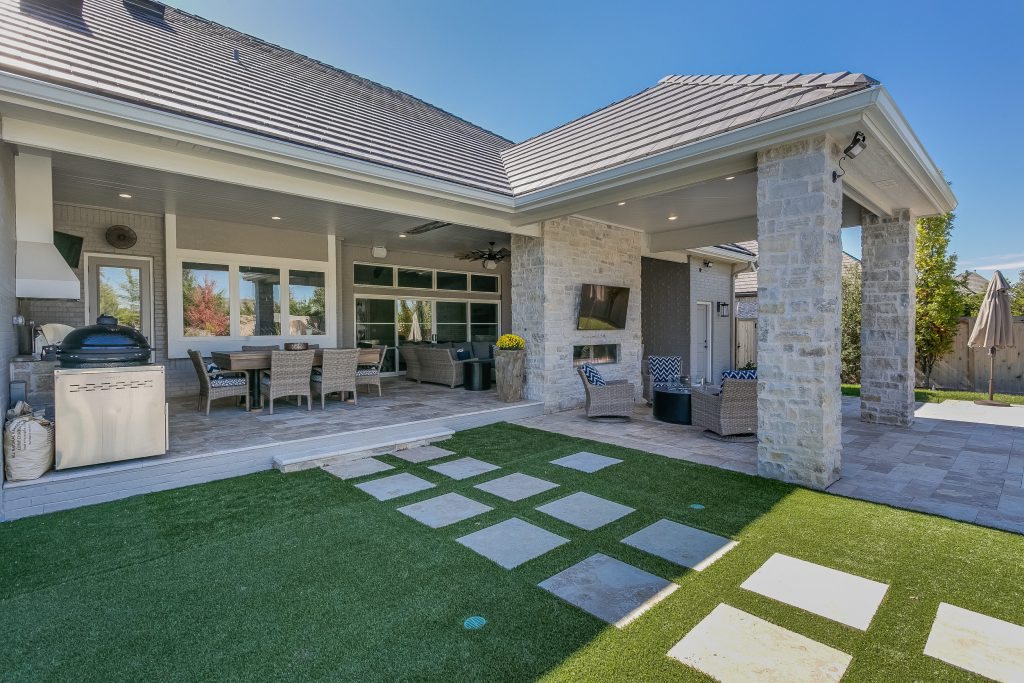Magnolia Floor Plan Covered Outdoor Living Area