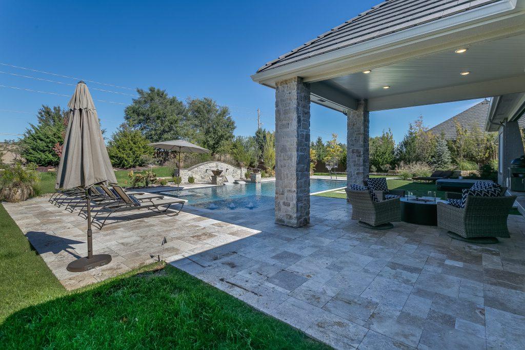 Magnolia Floor Plan Outdoor Living Area