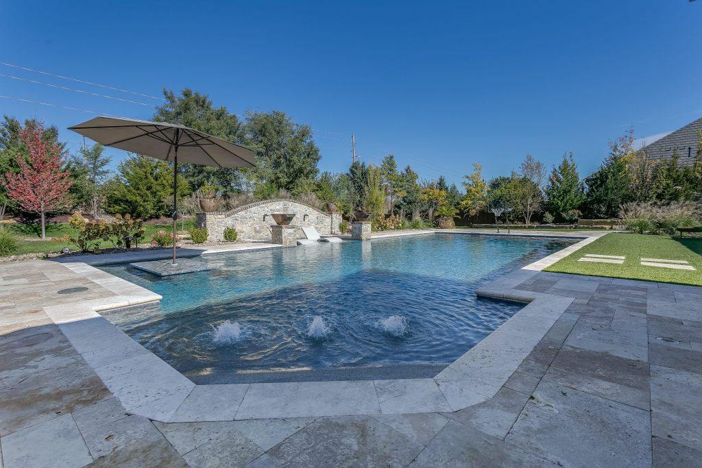 Magnolia Floor Plan Swimming Pool