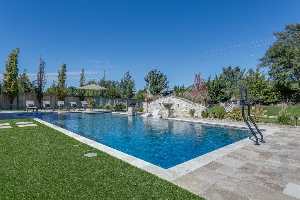 Magnolia Floor Plan Full Swimming Pool