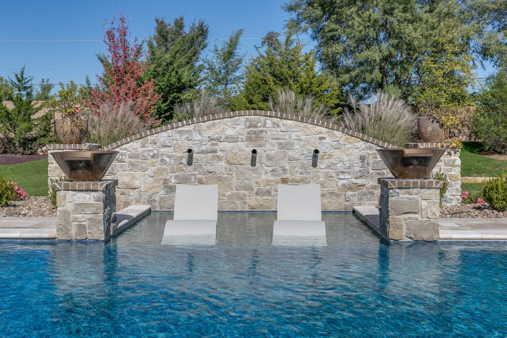 Magnolia Floor Plan Swimming Pool Detail