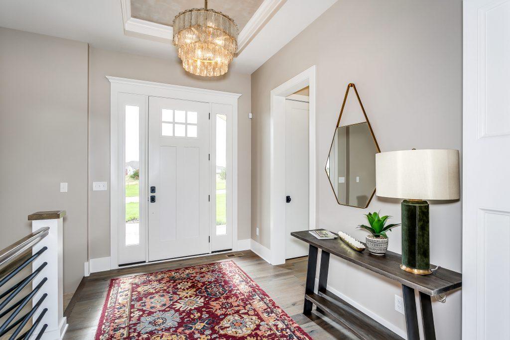 Magnolia Floor Plan Front Entry Interior