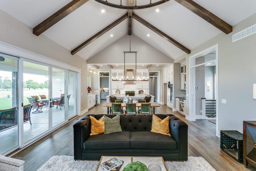 Magnolia Floor Plan Living Dining Kitchen