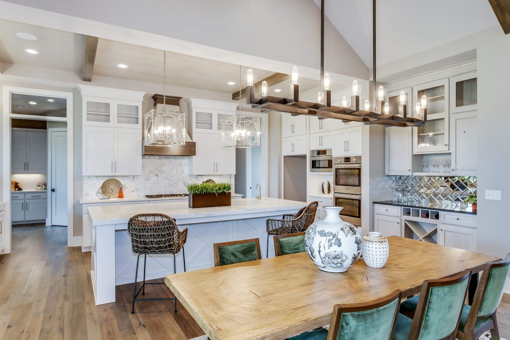Magnolia Floor Plan Dining Room and Kitchen