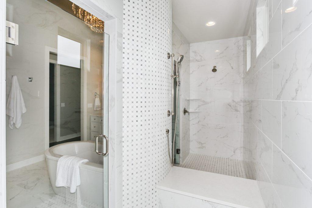 Magnolia Floor Plan Master Bath Walk Through Shower