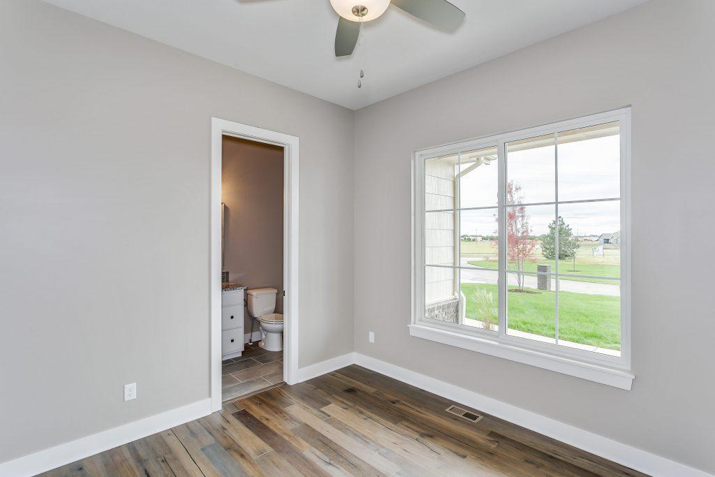 Magnolia Floor Plan Bedroom 3 and Bathroom