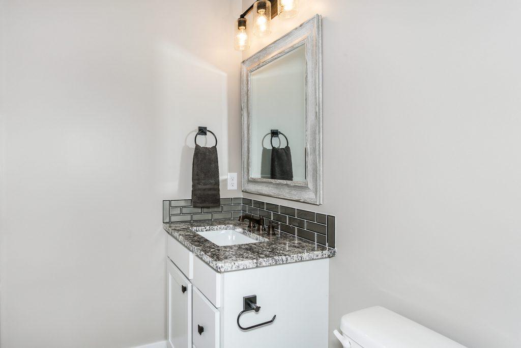 Magnolia Floor Plan Bathroom 2 Vanity
