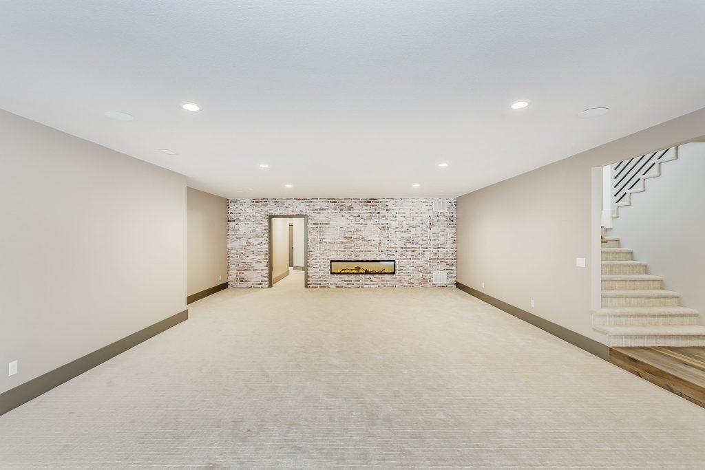 Magnolia Floor Plan Family Room Fireplace