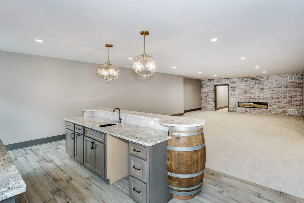 Magnolia Floor Plan Wet Bar