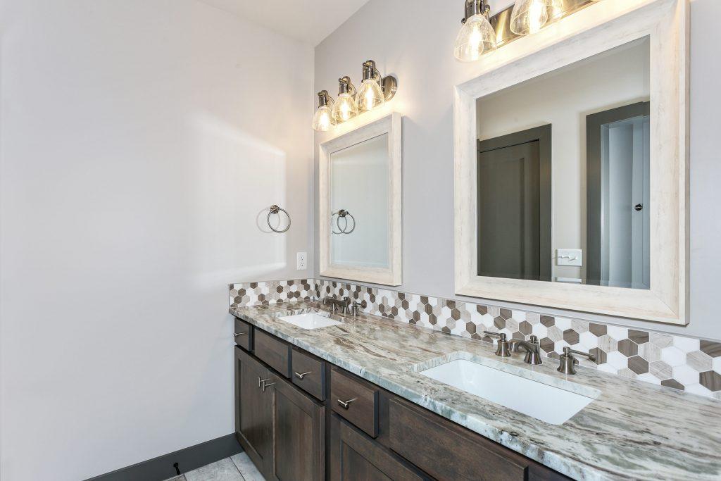 Magnolia Floor Plan Bathroom Double Vanity