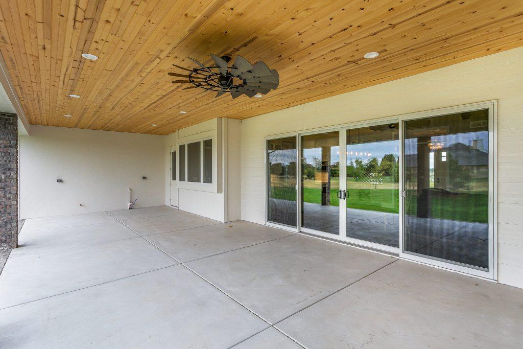 Magnolia Floor Plan Covered Porch Windows