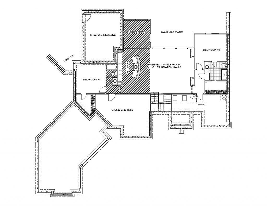 Summerset Floor Plan Foundation
