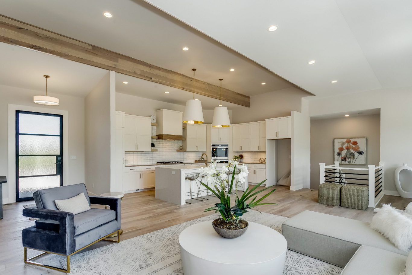 Summerset Terrace Prairie Living Room and Entryway