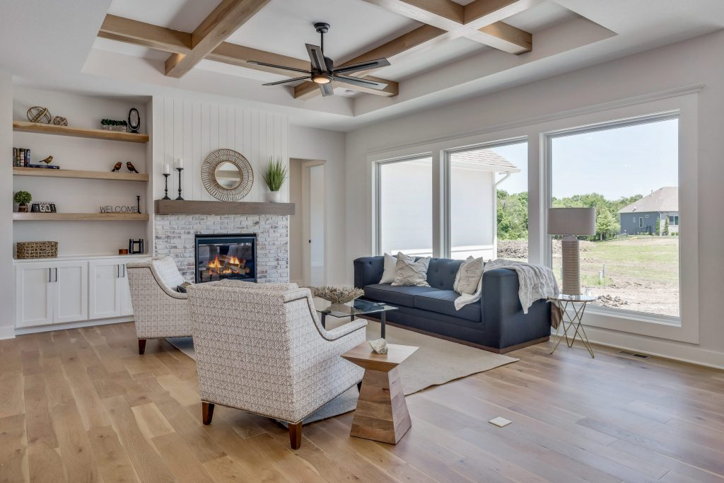 Summerset Terrace Farmhouse Living Room