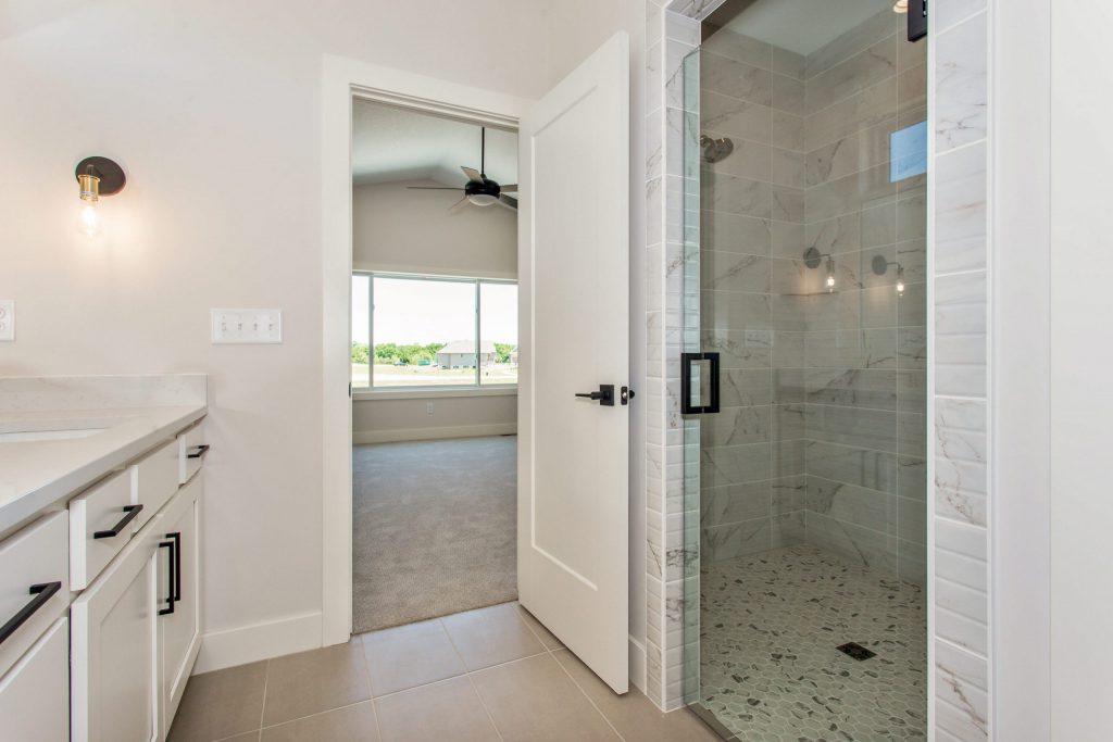 Summerset Terrace Farmhouse Master Shower