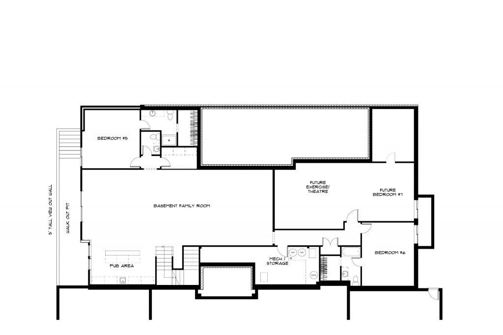 Sweetwater Basement Floor Plan