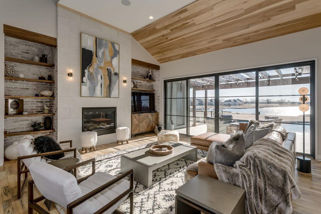 Summerset Estate Living Room Fireplace