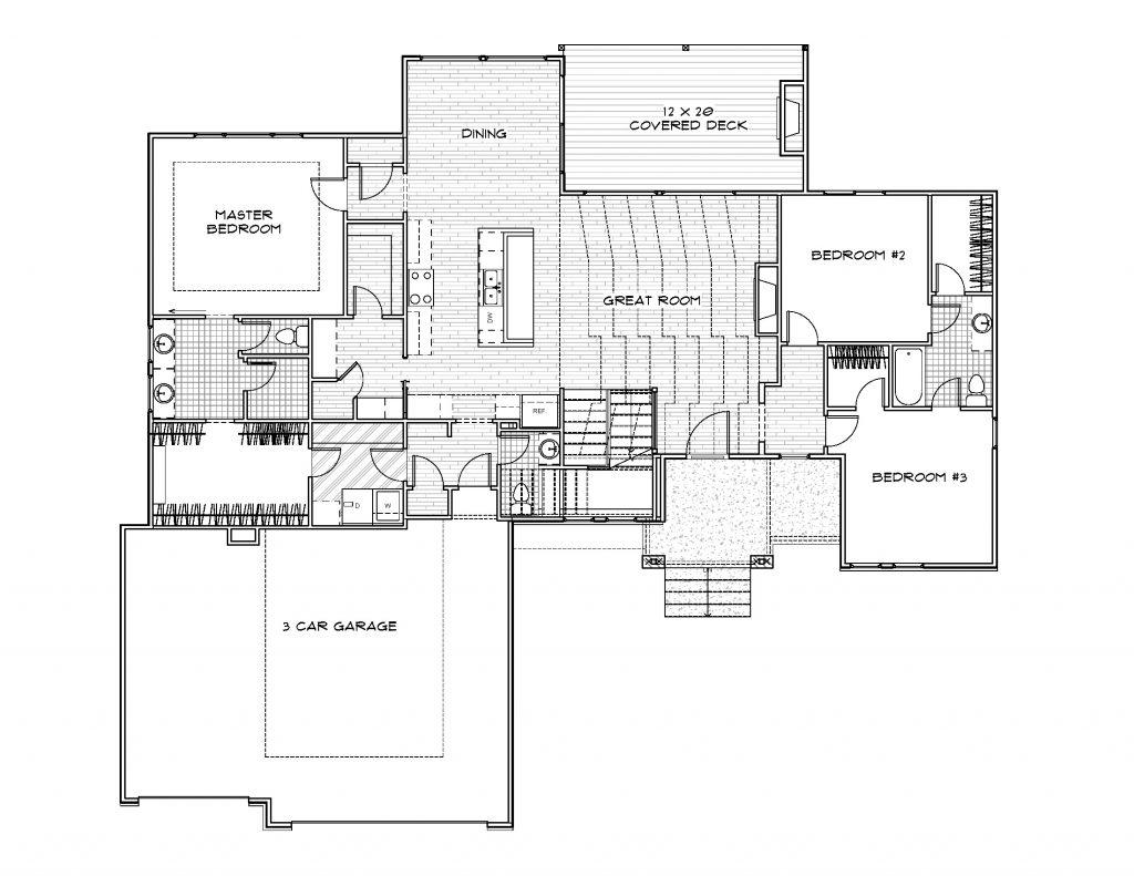 Mandalay 1.5 Story Floor Plan
