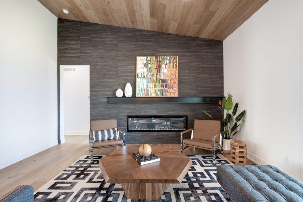 Gunnison Floor Plan Great Room Fireplace Wall