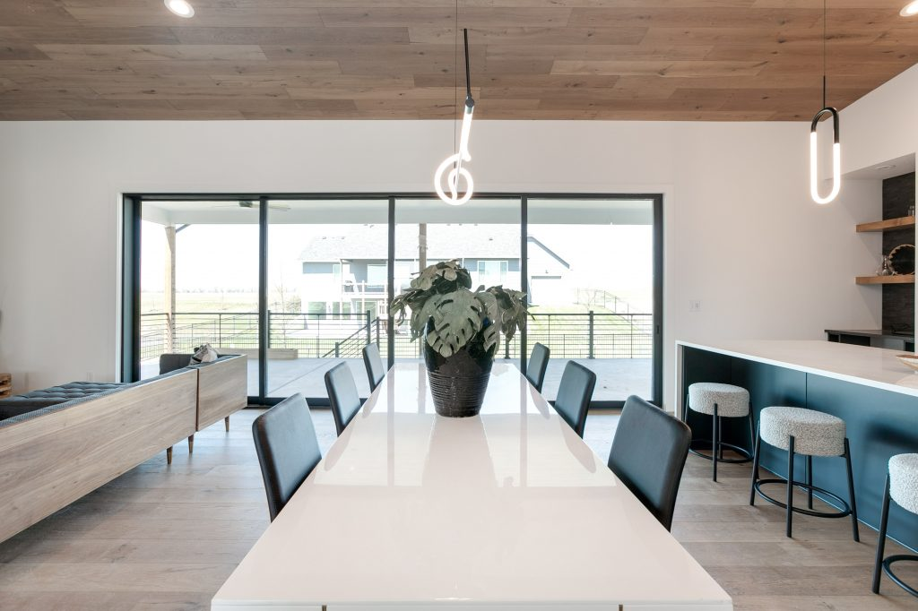 Gunnison Floor Plan Dining Area