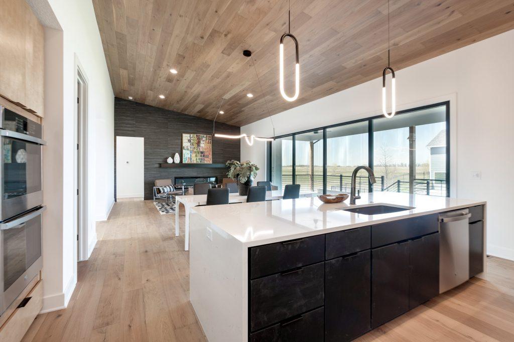 Gunnison Floor Plan Kitchen to Living Area