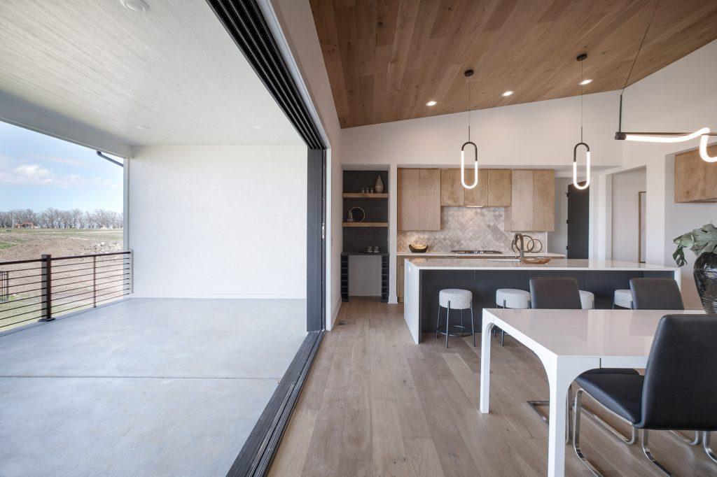 Gunnison Floor Plan View Into Kitchen