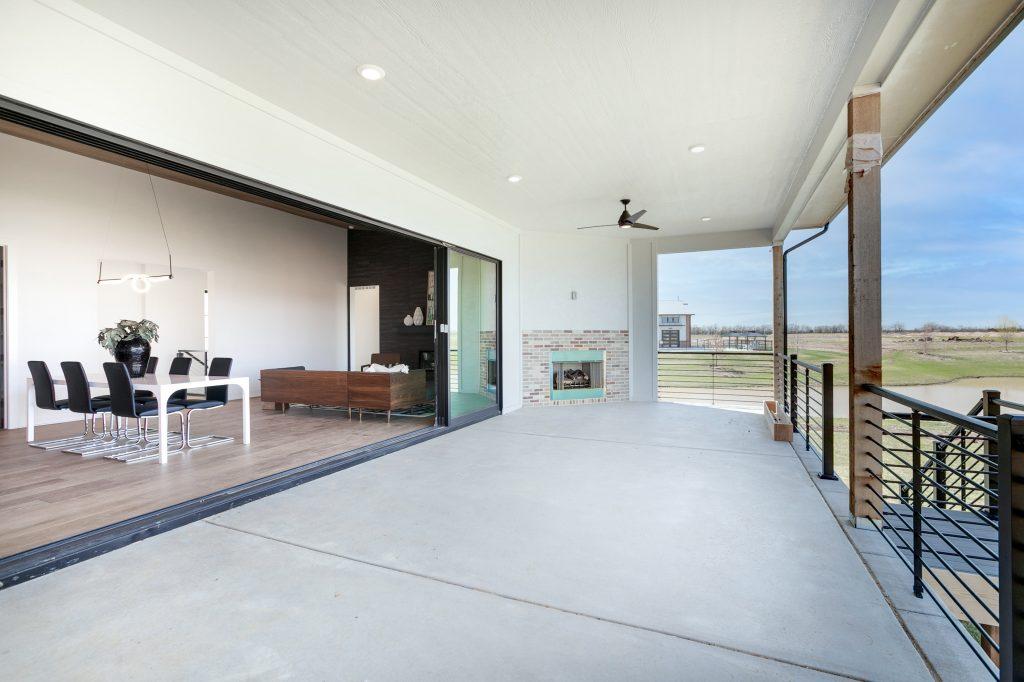 Gunnison Floor Plan Lanai Looking Inside