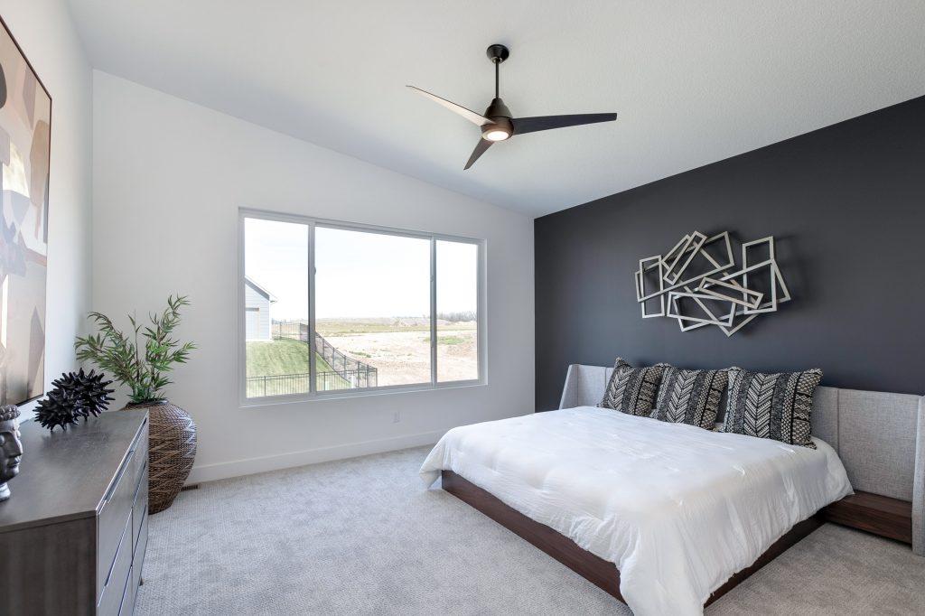 Gunnison Floor Plan Master Bedroom From Door