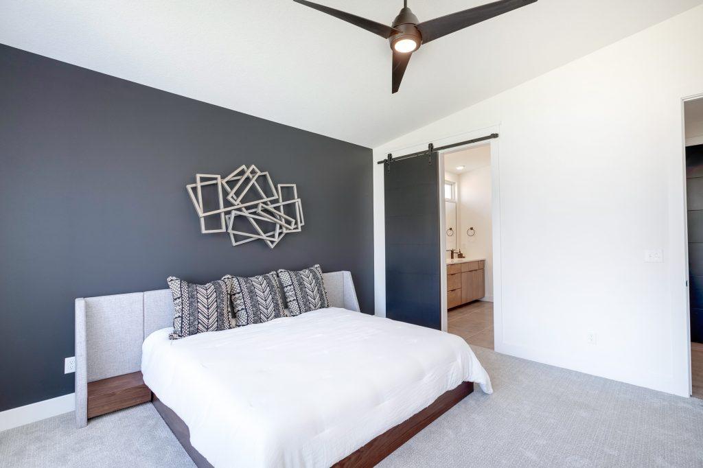 Gunnison Floor Plan Master Bedroom to Bathroom