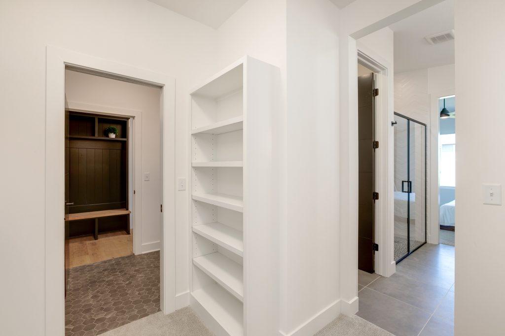 Gunnison Floor Plan Master Closet to Laundry Room