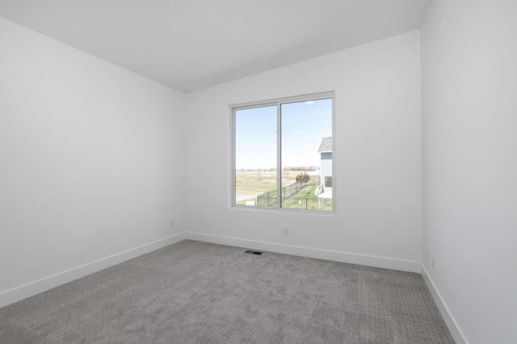 Gunnison Floor Plan Bedroom 1 View