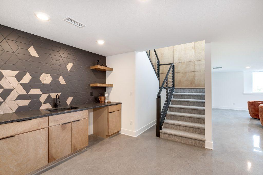 Gunnison Floor Plan Wet Bar
