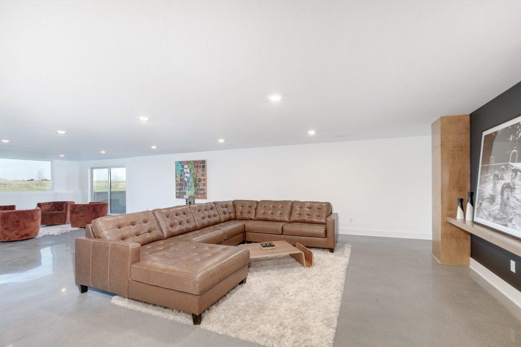 Gunnison Floor Plan Family Room From Front