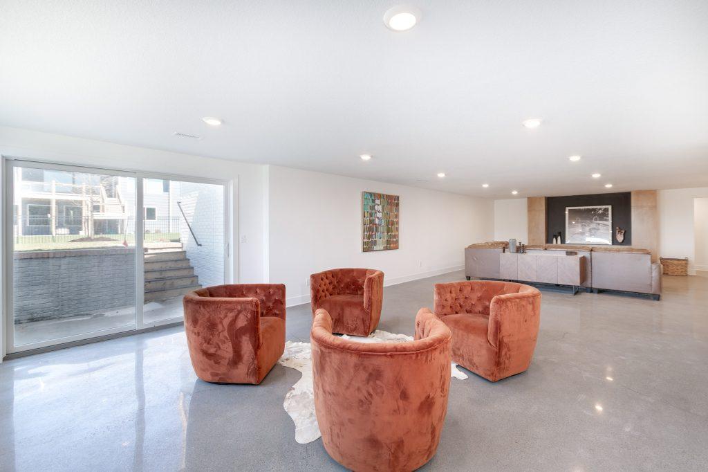 Gunnison Floor Plan Family Room Walkout