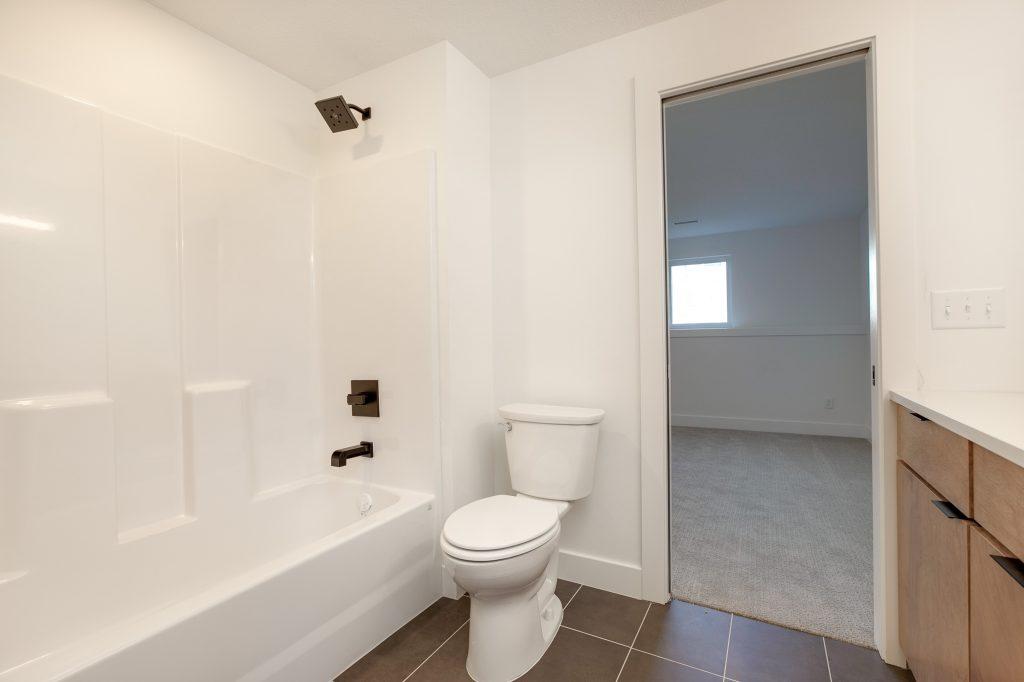 Gunnison Floor Plan Lower Level Shower
