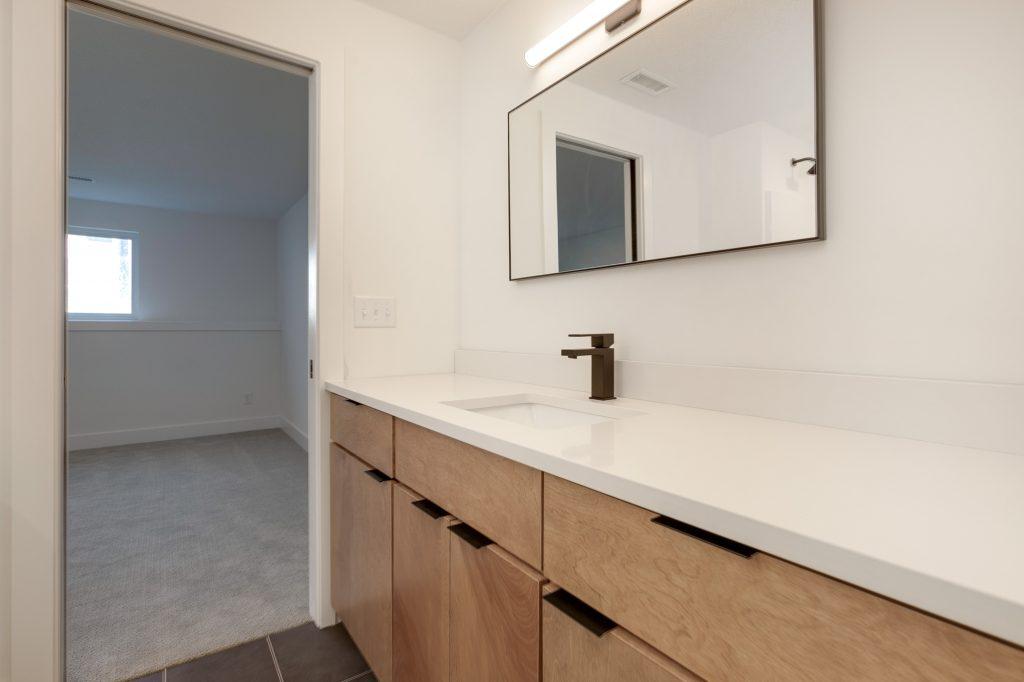 Gunnison Floor Plan Lower Level Bathroom