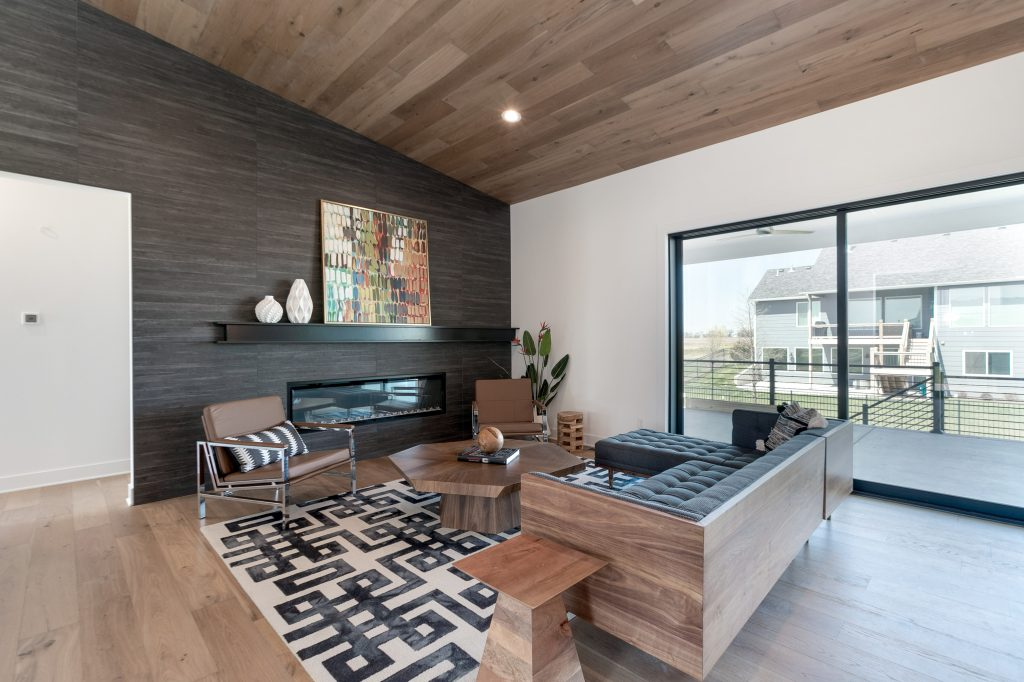Gunnison Floor Plan Great Room to Outside