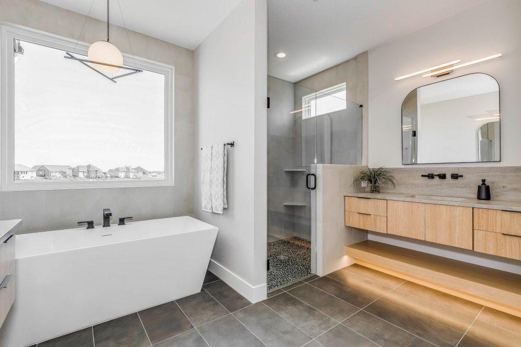 Mandalay Bonus (Large) Floor Plan Master Bathroom Shower