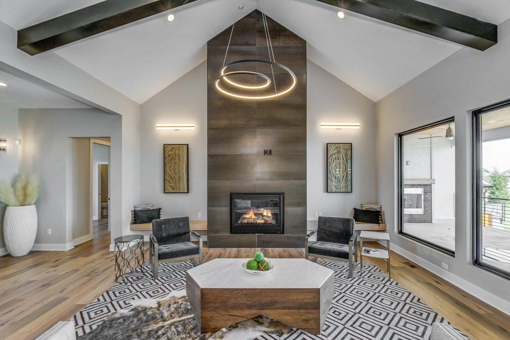 Mandalay Bonus (Large) Floor Plan Great Room Fireplace