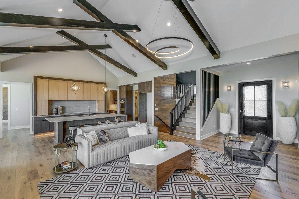 Mandalay Bonus (Large) Floor Plan Main Floor Living and Kitchen