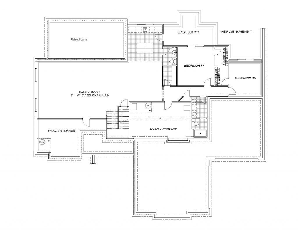 Mandalay Bonus (Large) Foundation Plan